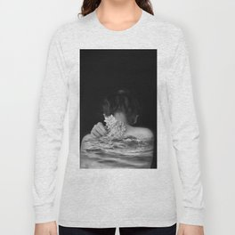 Flower and sea Long Sleeve T-shirt
