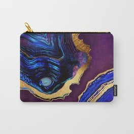 Agate Abstract Carry-All Pouch