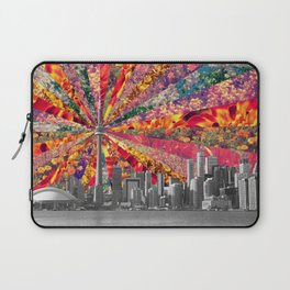 Blooming Toronto Laptop Sleeve