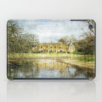 downton abbey iPad Cases featuring Missenden Abbey by Astrid Ewing
