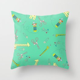 Notions Menagerie Throw Pillow