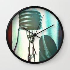 Art should disturb the comfortable. Wall Clock