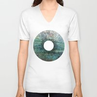 iris V-neck T-shirts featuring Iris by James White