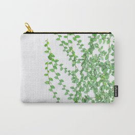 Green creepers climbing the wall Carry-All Pouch