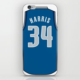 Devin Harris Jersey iPhone Skin