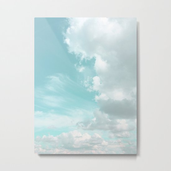 Head in the clouds #buyart #decor #freshair Metal Print