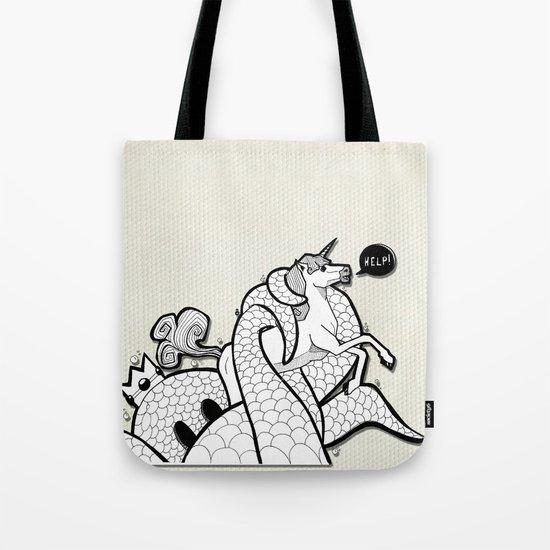 I hate Unicorn Tote Bag