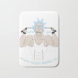 Rick and Morty - Big Rick Swole Patrol Bath Mat