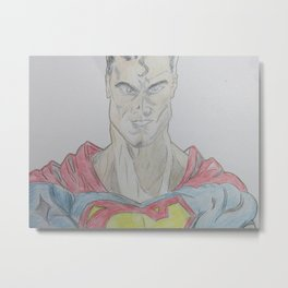 Hero Among Us Metal Print