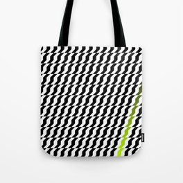 A Stripe of Green Tote Bag