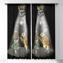 A Portal To Wonderland - Alice In Wonderland Blackout Curtain