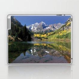 Maroon Bells in Aspen, Colorado Laptop & iPad Skin