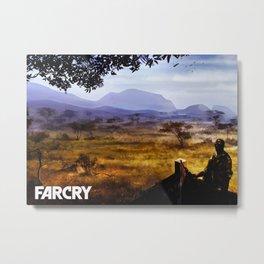 Far Cry Game Metal Print