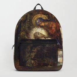 Gustave Moreau - Pieta - Digital Remastered Edition Backpack