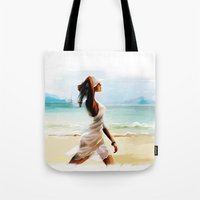thailand Tote Bags featuring Thailand by tatiana-teni