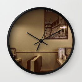 At the Cafe Wall Clock
