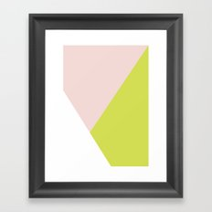 Getting Blocky Framed Art Print