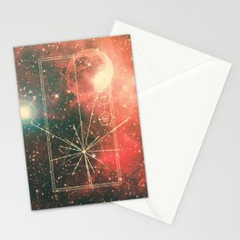 Pulsar Map Stationery Cards