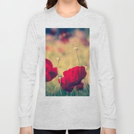 Keokea Poppy Dreams Long Sleeve T-shirt