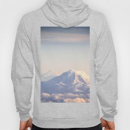 Mountain Peaks from Above Hoody