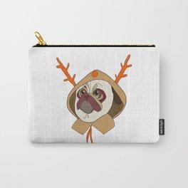 Christmas pug Carry-All Pouch