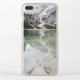 The Calm Mountain Waters Clear iPhone Case