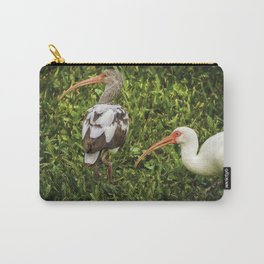 White Ibis - Adult and Juvenile Carry-All Pouch