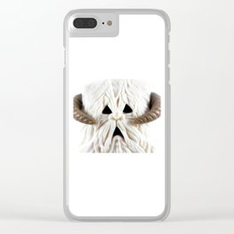 Hoth Wampa Clear iPhone Case