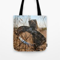 ufo Tote Bags featuring UFO by IowaShots