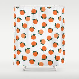 Peaches & Oranges Shower Curtain