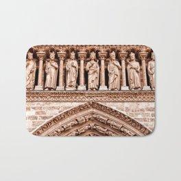 Notre Dame Mural Bath Mat