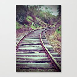 Valley Railway Canvas Print