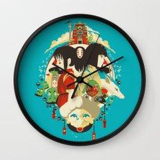 Don't Be Afraid Wall Clock