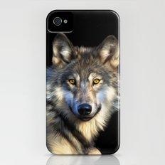 Wolf iPhone (4, 4s) Slim Case