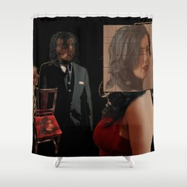 Do you see me now? Shower Curtain