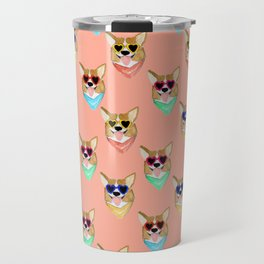 Corgi Love Travel Mug