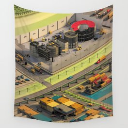 Factory Wall Tapestry