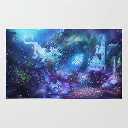 Water Dragon Kingdom Rug