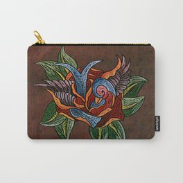 Sparrow Rose One Remix Carry-All Pouch