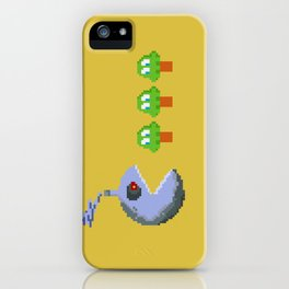 March of Progress | videogame #tribute | #pixelart iPhone Case