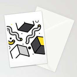 NEO MEMPHIS 16 Stationery Cards