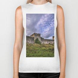 Chepstow Castle Walls Biker Tank