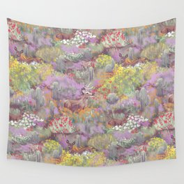 Life in Death Valley Wall Tapestry