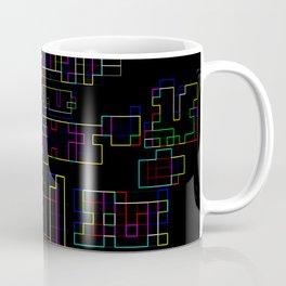 Random colorful lines Coffee Mug
