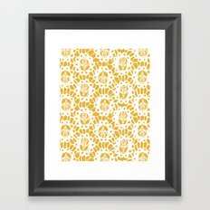 Bee Charmer Framed Art Print