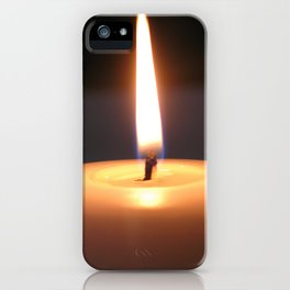 Light in the darkness iPhone Case