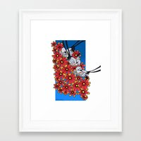oklahoma Framed Art Prints featuring OKLAHOMA by Erin L Turberville