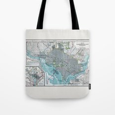Washington City Tote Bag