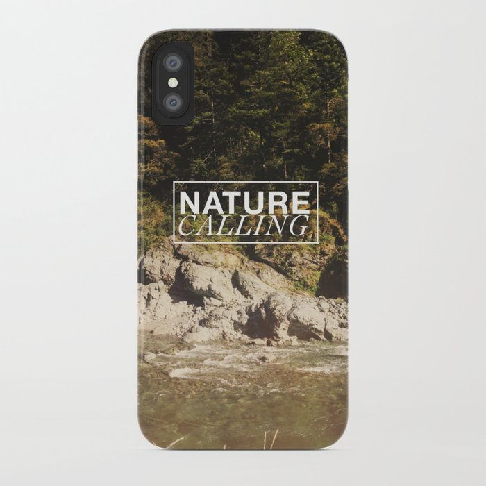 Nature Calling iPhone Case