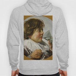 """Frans Hals """"Boy with a glass and a tin can"""" Hoody"""